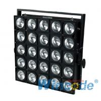 Wholesale 25 Heads OSRAM LED Stage Light , DMX Matrix Panel Audience Blinder Lights from china suppliers