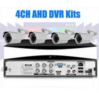 Wholesale Security CCTV 4CH 720P AHD DVR Kit 4pcs Bullet Cameras , High Resolution from china suppliers