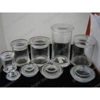 Wholesale wholesale clear 3OZ-21OZ glass jar with cheap price in stock from china suppliers