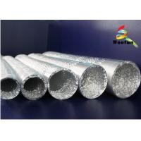Wholesale Silver 5 Fire Rated Flexible Duct Aluminum For Air Conditioning System from china suppliers