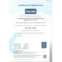 Guangdong EuroKlimat Air-Conditioning & Refrigeration Co., Ltd Certifications