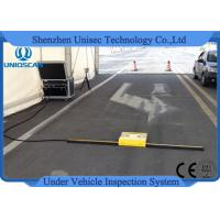 Buy cheap Mobile Airports Under Vehicle Inspection System 5000*2048 Pixels Vertical Resolution Of Image from wholesalers