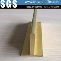 Quality Brass Sanitary Parts Copper T Shape Slot Framing Supplier China for sale
