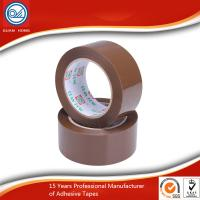 Quality 48mm Dark Brown BOPP Packaging Tape Pressure Sensitive High Adhesive for sale