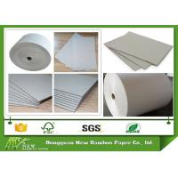 Wholesale 300gsm - 650gsm Roll Of Gray Paper Cardboard Roll For Waste Paper Reuse from china suppliers