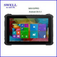 Wholesale Industrial Smartphone10Inch Intel Tablet Android5.1 z8350 Windows10 OS with fingerprint, barcode scanner rfid nfc from china suppliers