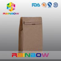 Wholesale Customized Natural Brown Paper Bags For Beef Jerky Packaging from china suppliers