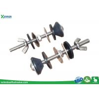 Wholesale Solid Stainless Steel Toilet Bolts / WC Bolt For 2 Pieces Toilet , Long Endurance from china suppliers