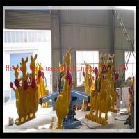 Wholesale Children playground rides lively jumping kangaroos for kids and adults from china suppliers