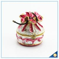 Wholesale Wholesale Creative Handmade Money Bag Trinket Box Metal Jewelry Box SCJ592 from china suppliers