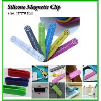 Wholesale silicone magnet clip, silicone clip with magnet, silicone mobilephone holder from china suppliers