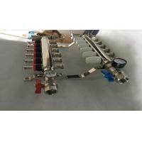 Wholesale S S 201 Floor Heating Manifold With Two Ball Valve / Brass Water Manifold from china suppliers