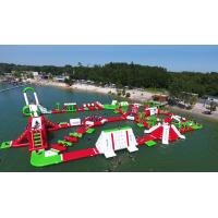 Wholesale Outdoor Floating Airtight Inflatable Water Park Games For Adults EN15649 from china suppliers
