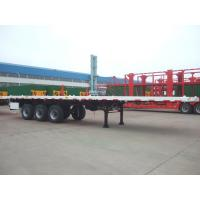 Buy cheap Single Tire-40 Feet -Light Flat Bed Semi-Trailer from wholesalers