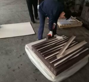 Quality Magnesite Chrome Kiln Refractory Bricks , high temp Fire Brick For Fireplace Insert for sale