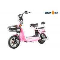 Quality 20AH/ 12AHElectric Moped Scooter For Teenagers Front Drum Brake 48v Brushless Motor for sale