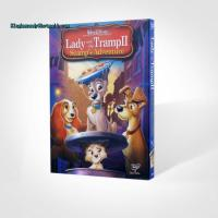 Buy cheap Lady and the Tramp II Scamp's Adventure disney dvd movies cartoon movies kids movies with slip cover case drop ship from wholesalers