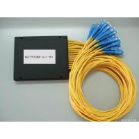 Wholesale PLC 1×32 Fiber Optic Splitter ABS material SC connector 3.0mm diameter G657A1 fiber yellow cable from china suppliers