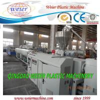 Wholesale Screw Extruder PVC Pipe Extrusion Line CE ISO , High Effeciency Extruder from china suppliers