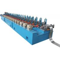 Wholesale Customized Profiles Drawings Steel Roll Forming Machine , 12 Groups Roller Shutter Door Machine from china suppliers
