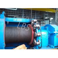 Wholesale hyraulic and electric Winch Drum for Hoist Equipment Spiral or lebus Grooving type from china suppliers