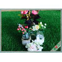 Wholesale High Density Indoor Artificial Turf , Weather Resistant Landscaping Synthetic Grass from china suppliers