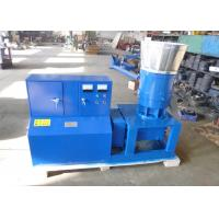 Wholesale Poultry Feed Pellet Machine , Homemade Small Pellet Mill Flat Die Type from china suppliers