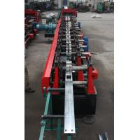 Wholesale C Purlin Roll Forming Machine Plc Light Steel Framing Cold Roll Forming Machine from china suppliers