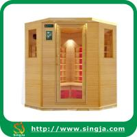 Wholesale Custom 6 Sides Wooden Far Infrared Sauna House(ISR-23) from china suppliers