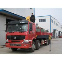 Wholesale XCMG Truck Mounted Crane Howo 50 Ton Telescopic Hydraulic Crane For Transporting Cargo from china suppliers