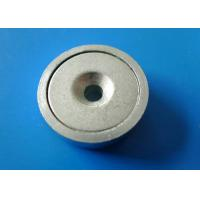 Wholesale Permanent Magnetic Assemblies , Alnico Shallow Pot Magnet from china suppliers