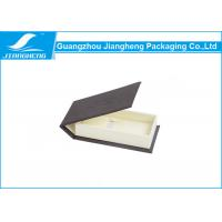 Wholesale PU Leather Handmade Watch Wood Gift Boxes With Ribbon Fit Product 14 * 7.5 * 3 cm from china suppliers