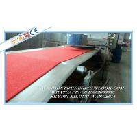 Quality PVC Cushion Carpet Machine / PVC Floor Mat Manufacturing Plant In China for sale