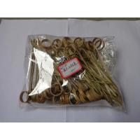 Buy cheap 12cm Eco-Friendly Knot Bamboo Food Pick Noshi Gushi Bamboo Picks Skewers from wholesalers