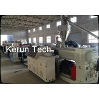 Quality Windows Plastic Profile Production Line , PVC Door Making Machine CE for sale
