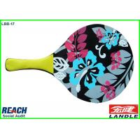 Wholesale Flower Printed Paddle Tennis Rackets With Different Options For Size / Thickness from china suppliers