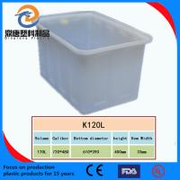 Wholesale plastic turnover box with bottom drainage holes from china suppliers