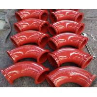 Wholesale Twin Wall Schwing 90° Concrete Pump Elbow Wear With Male & Female Ends from china suppliers