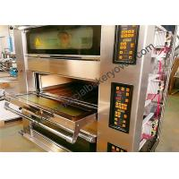 China Stone Deck Pizza Oven , Stainless Steel Door Commercial Bread Oven on sale