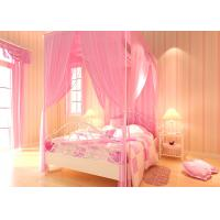 Wholesale Lovely Embossed Kids Bedroom Wallpaper , Colorful Striped Wallpaper from china suppliers