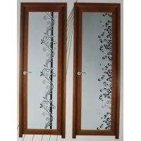 Wholesale 1.0mm - 1.2mm profile thickness wood grain elegant appearance aluminum hinged doors from china suppliers