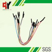 Wholesale Male Female Jumper Wires Breadboard , Multi - Color Jumper Cable Wire from china suppliers