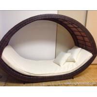 Wholesale Removable  Popular Canopy Sofa Rattan Outdoor Furniture / Garden Lounge Rattan Furniture from china suppliers