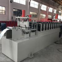 Quality C Channel Cable Tray Roll Forming Machine , Cable Trunking Cover Metal Roll Forming Machines for sale