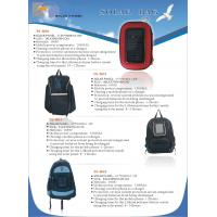 Quality school bag with solar panel for sale