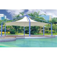Quality Tensile PVDF Fabric Membrane Car parking Swimming Pool Cover Tent With Waterproof for sale
