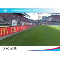 Wholesale Waterproof P10 Outdoor Full Color Perimeter Led Display / Stadium Led Screen from china suppliers