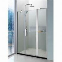 Wholesale SUS304 Simple Shower Room with 8/10mm Glass Thickness and 45m Chassis Height from china suppliers