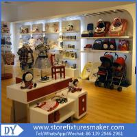 Quality Lovely Kids Clothes Shops - Manufactory Baby Kids Shop display furnitures with led  lights for sale