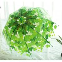 Wholesale 2016 new style straight transparent clear dome umbrella from china suppliers